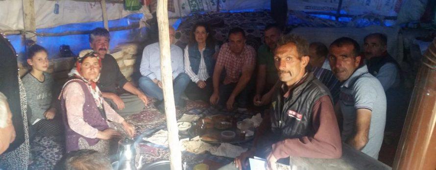 Bolkarlar'da Yörüklerle Çadır Paneli