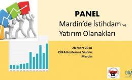 Mardin'de İstihdam ve Yatırım Olanakları